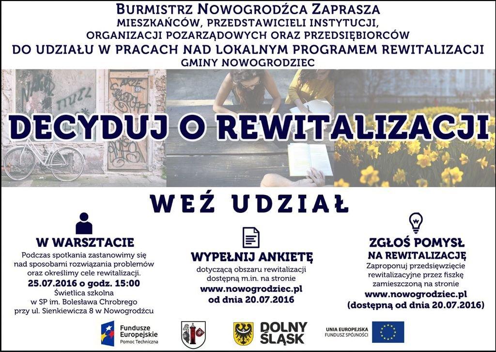 LPR w gminie Nowogrodziec, weź udział w spotkaniu i w ankiecie