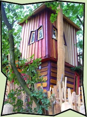 Domek na Drzewie Kulturinsel Einsiedel