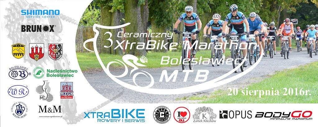 Plakat 3 Ceramicznego Xtrabike Marathonu MTB