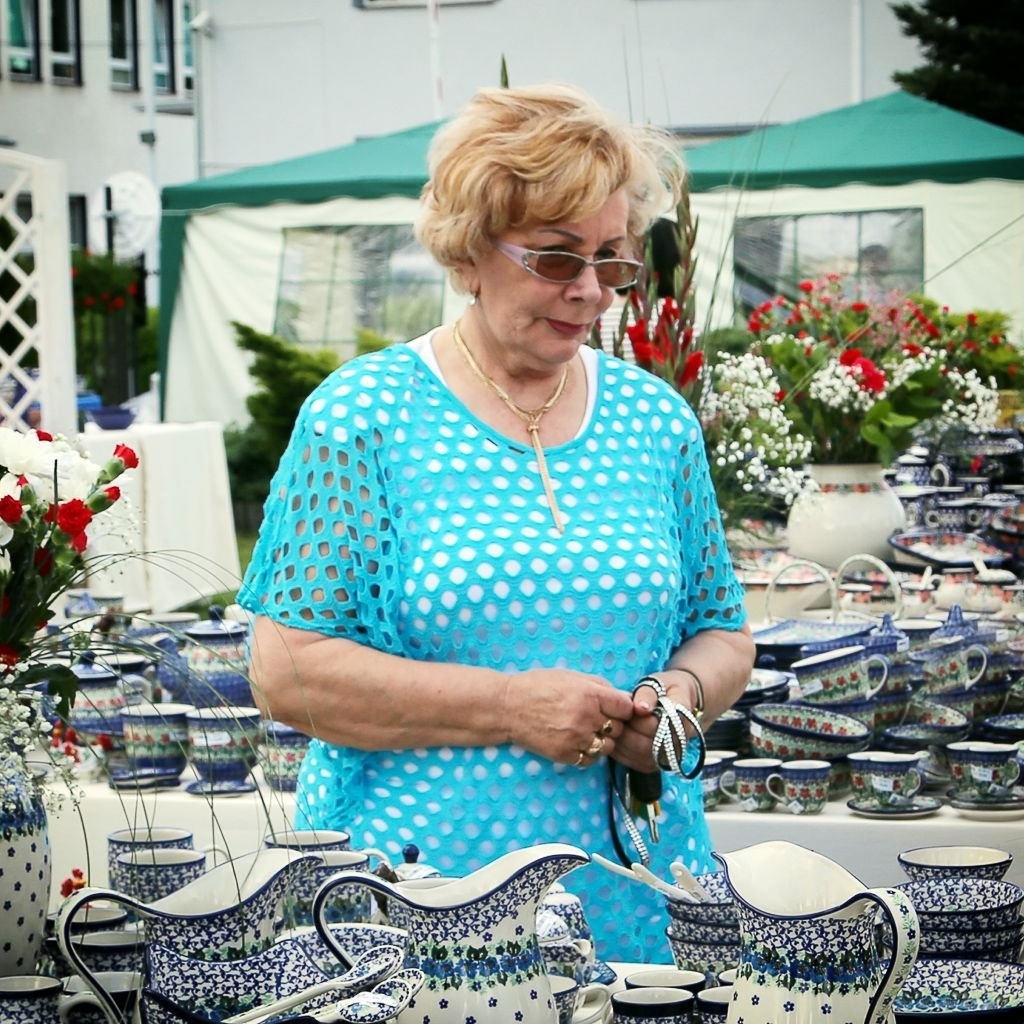Barbara Eibel sprzedaje naszą ceramikę wojskowym z Pentagonu