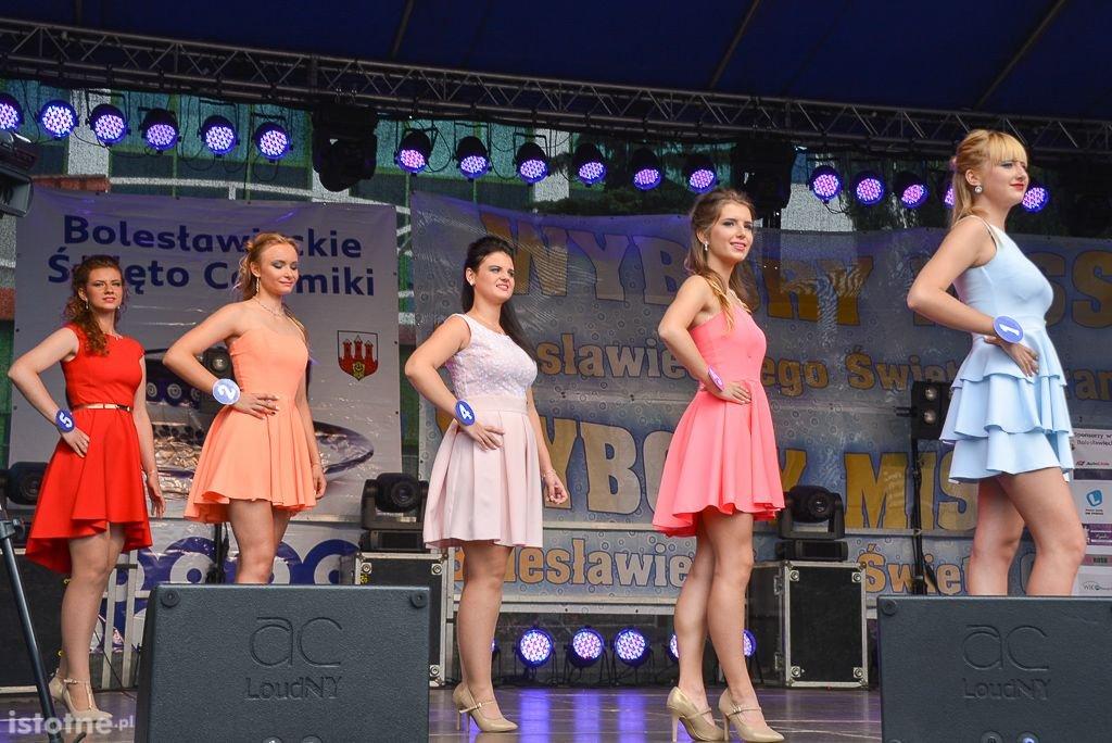 Paulina Pawłowicz i Kamil Wieczorek Miss i Misterem