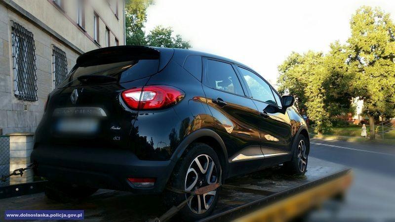 Ukradł Francuzowi Renault o wartości 70 tys. zł