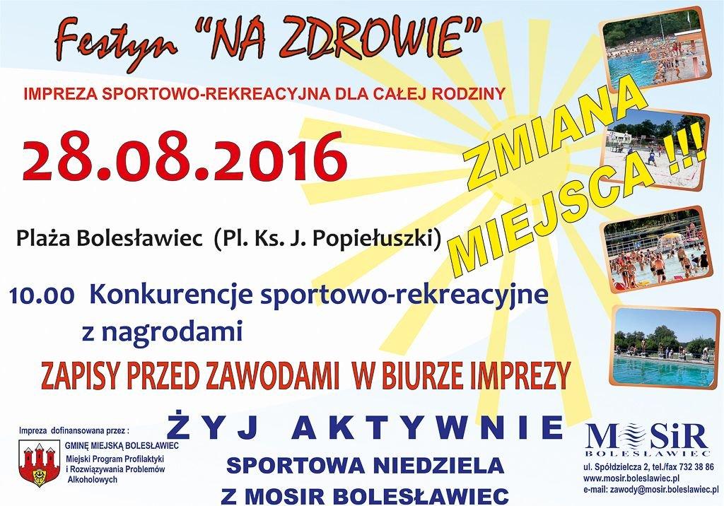 Spędź niedzielę na sportowo z bolesławieckim MOSiR-em