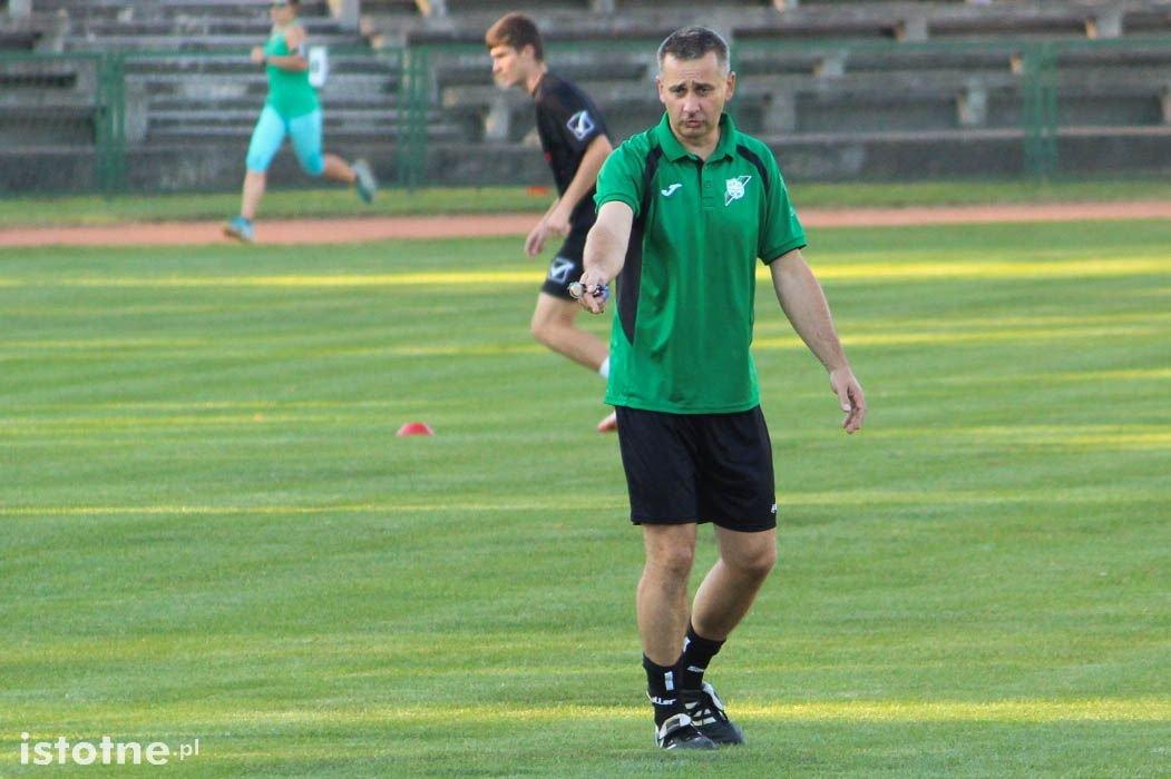 Tomasz Fulczyński - trener seniorów BKS