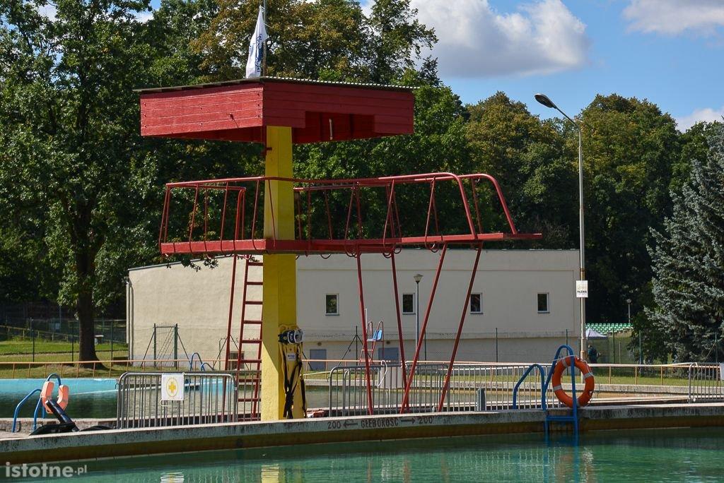Co z basenami letnimi przy Spacerowej?