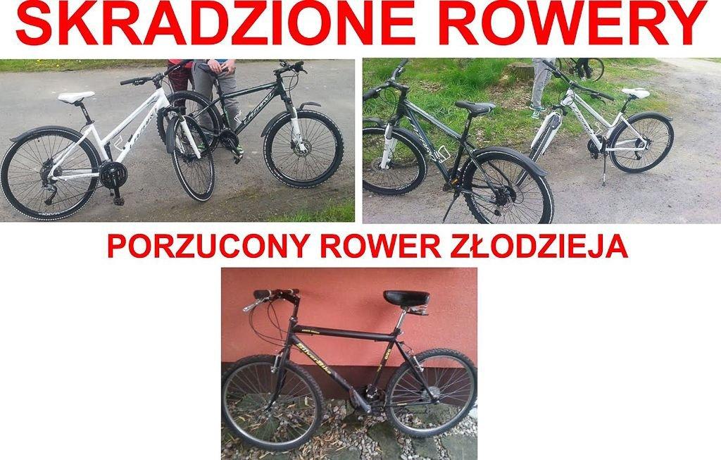 Wdarli się na prywatną posesję i ukradli rowery