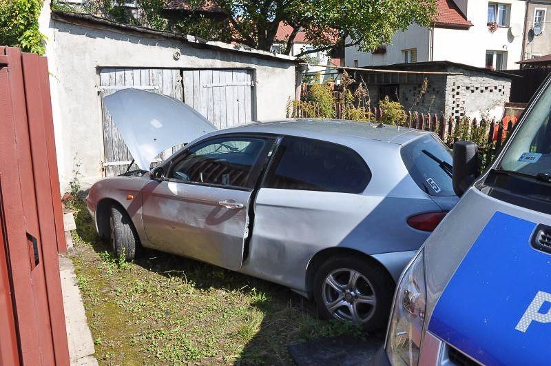 Ukradł samochód, wpadł w ręce policji