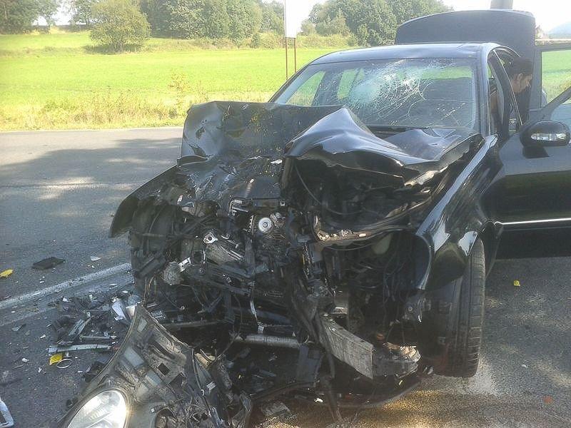 Wypadek w Łomnicy: 28-letni motocyklista zmarł w szpitalu