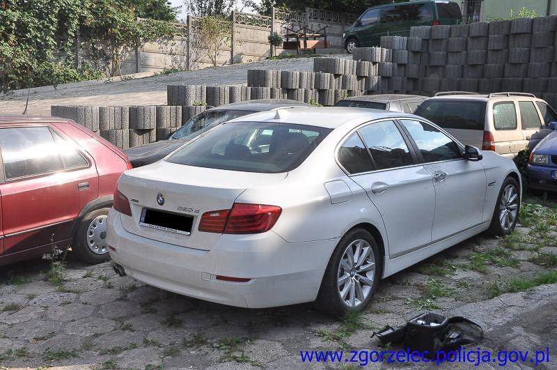 Ukradł BMW warte 140 tys. zł