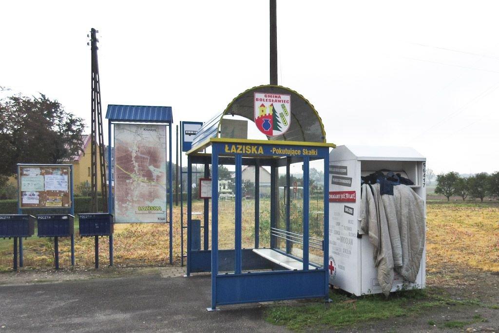 Kontener PCK w Łaziskach