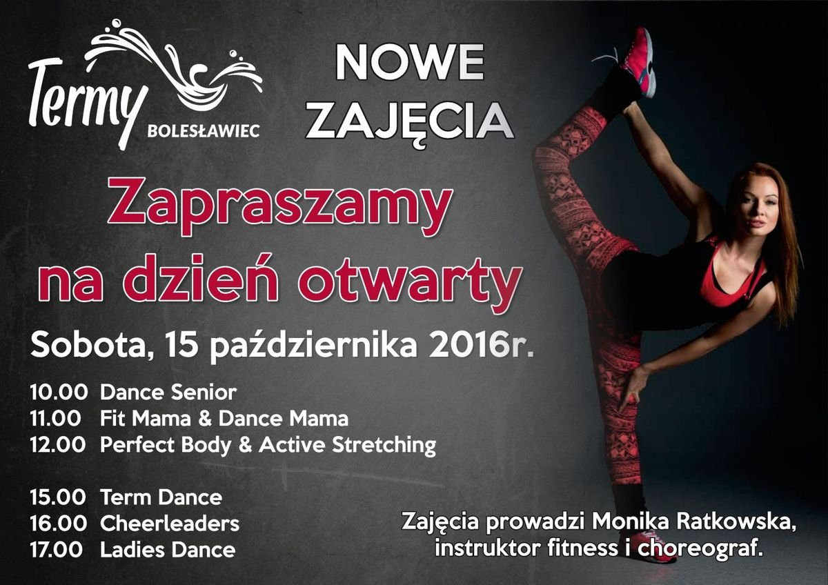 Nowe zajęcia fitness w Termach Bolesławiec