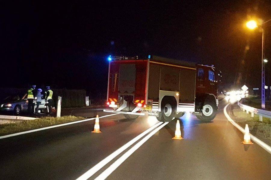 Wypadek w Tomaszowie Bolesławieckim