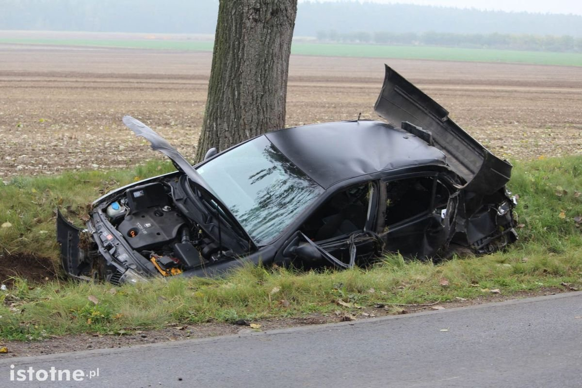 Wypadek koło Warty Bolesławieckiej