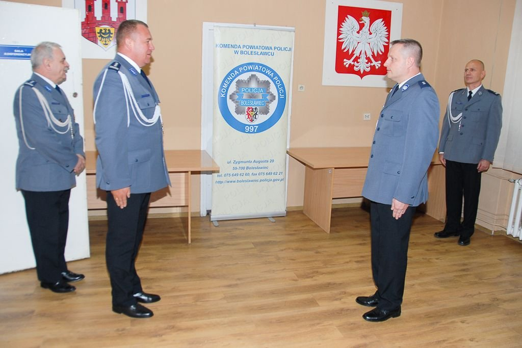 Podinsp. Dariusz Borski oficjalnie wiceszefem policji