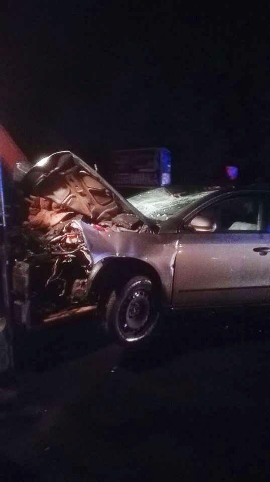 Wypadek w Tomaszowie. Jedna osoba ranna
