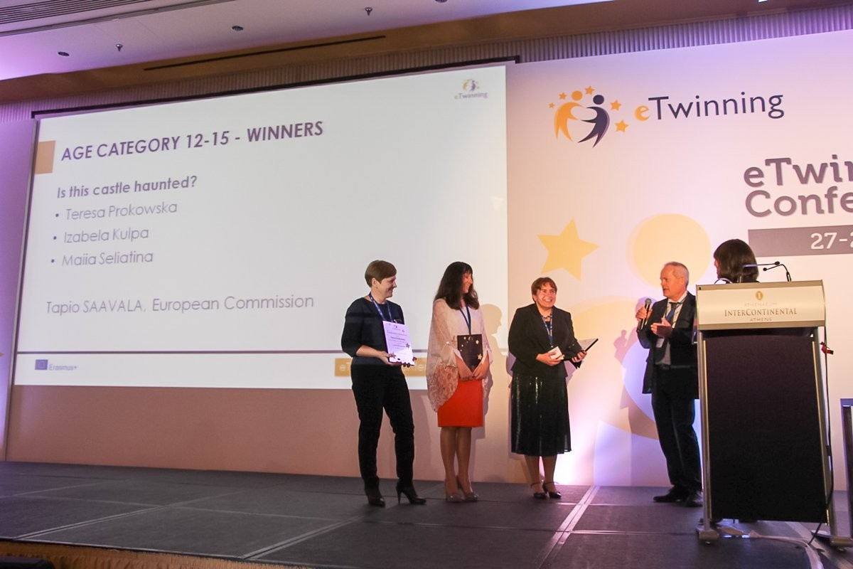 Bolesławianki z sukcesem w programie eTwinning
