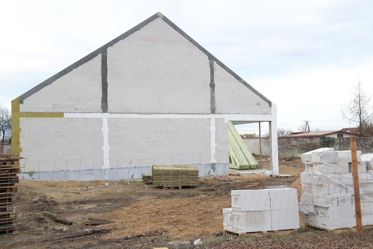 Budowa sklepu Dino w Warcie Bolesławieckiej