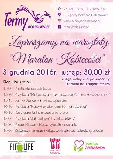 Maraton Kobiecości w Termach Bolesławiec