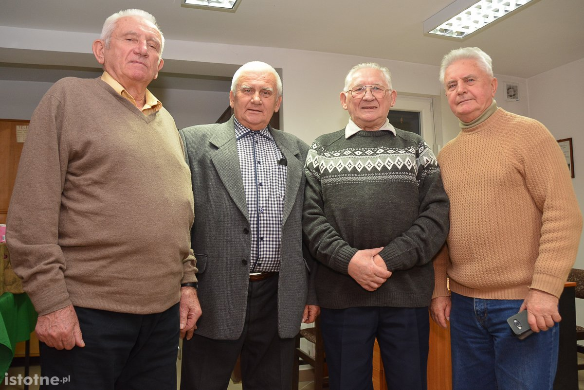 Michał Tychoń, Ryszard Drobnicki, Tadeusz Żuk i Zbigniew Junkiewicz