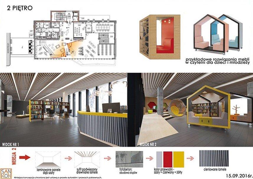 Zobacz, jak niedługo może wyglądać miejska biblioteka