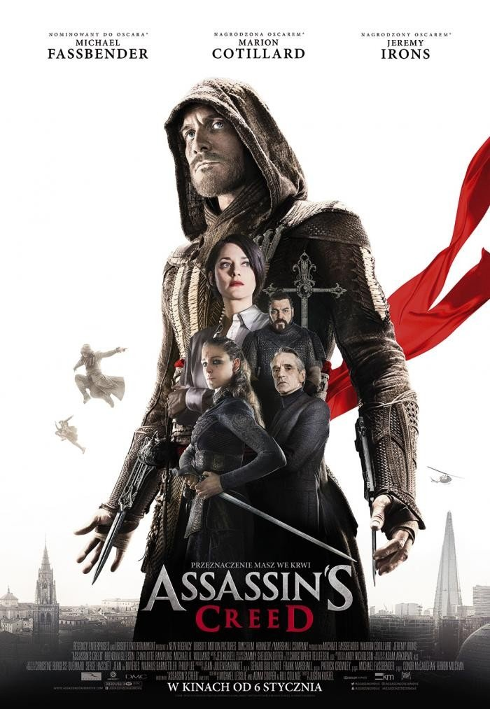 "Plakat filmu ""Assassin's Creed"""