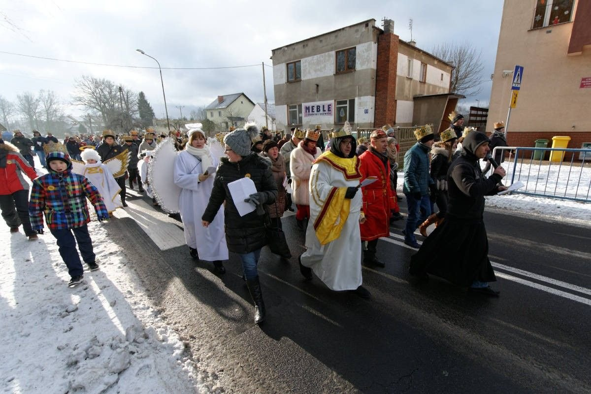 Zobacz, kto szedł w Orszaku Trzech Króli w gminie Osiecznica