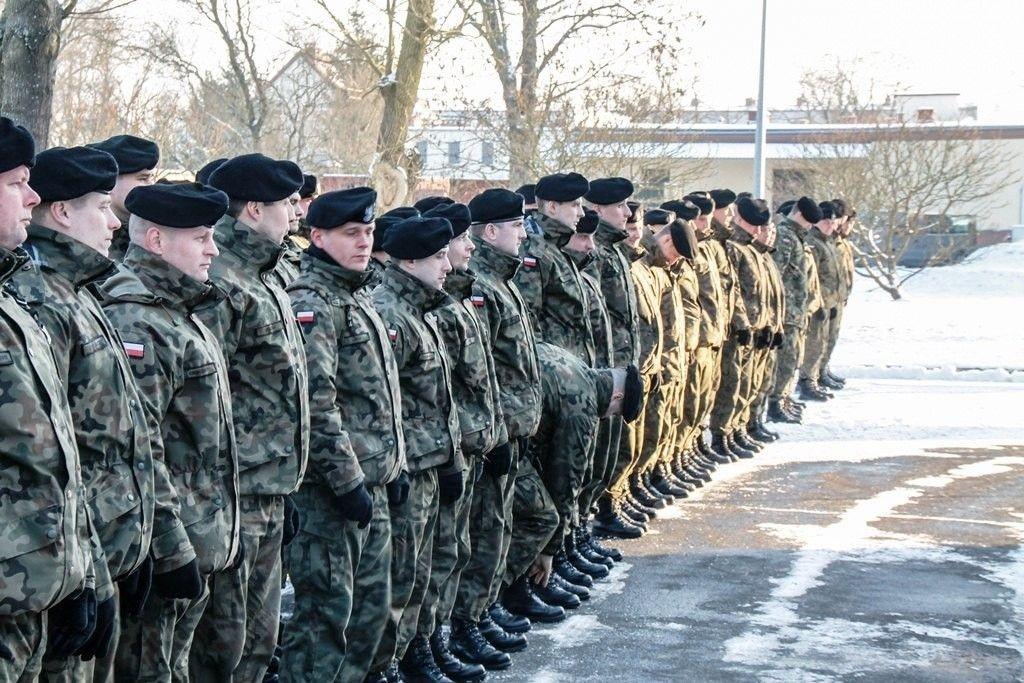 Amerykańscy żołnierze jeszcze nie przyjechali, są za to warszawiacy