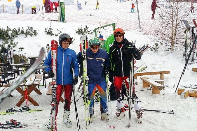 Jeleniogórski policjant trzeci w slalomie gigancie w Czarnej Górze