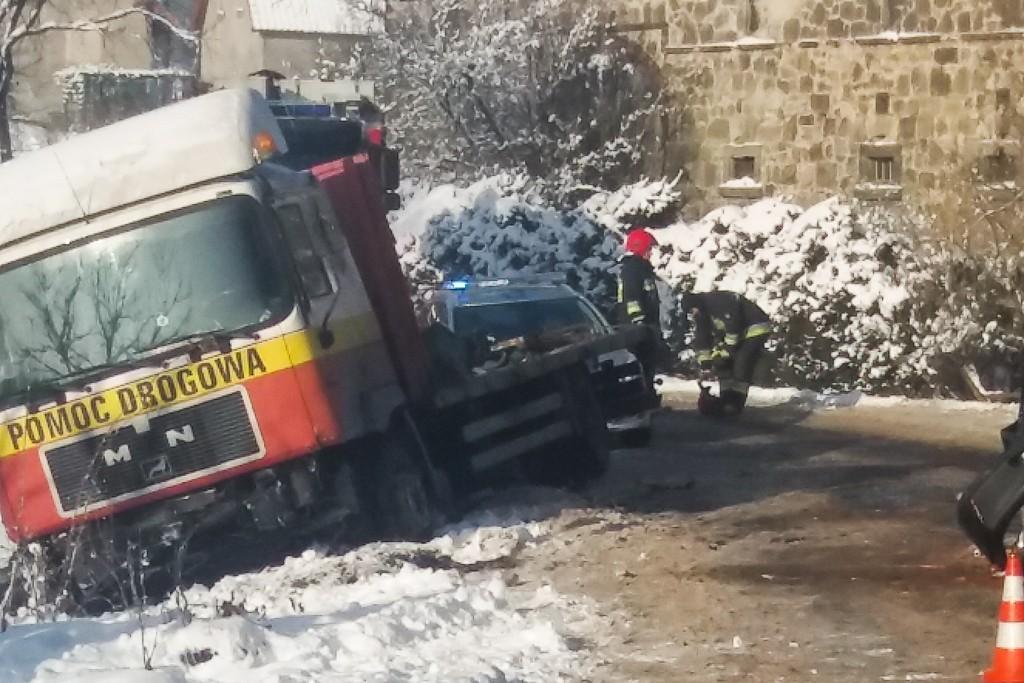 Wypadek w Ocicach