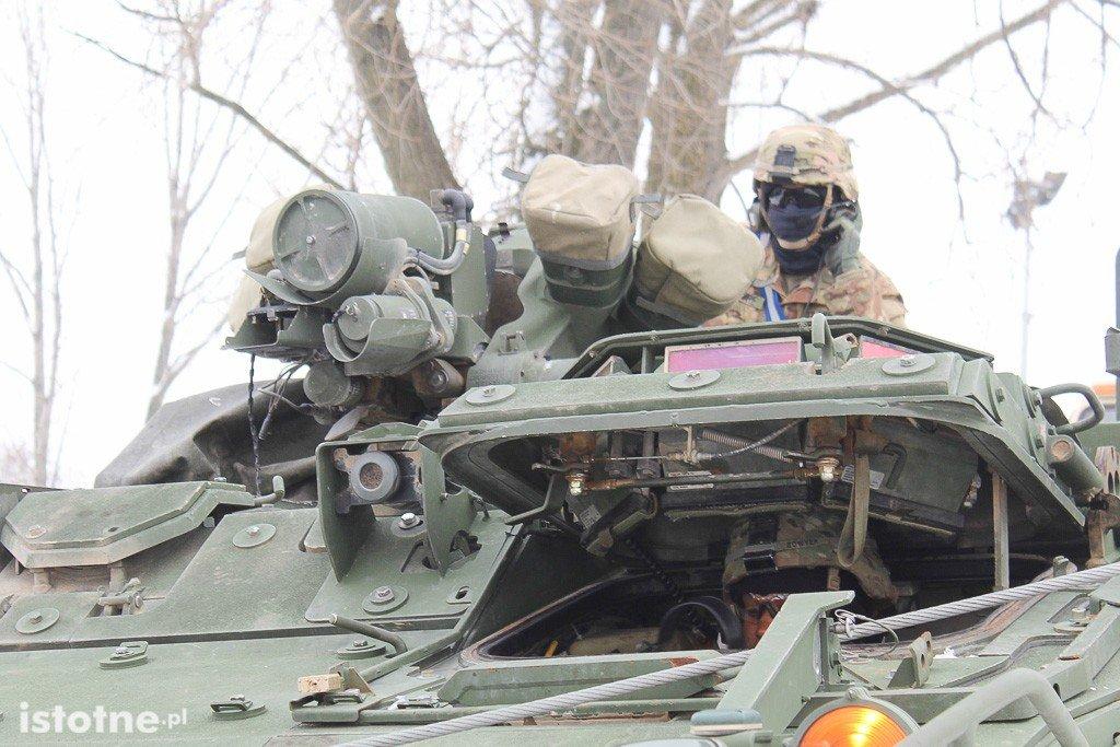 Kolejny amerykański transport wojskowy w Bolesławcu