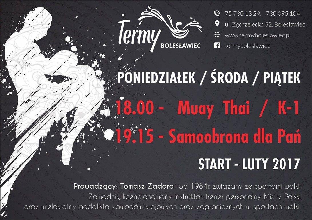 Muay Thai/K-1 oraz Samoobrona dla Pań w Termach Bolesławiec