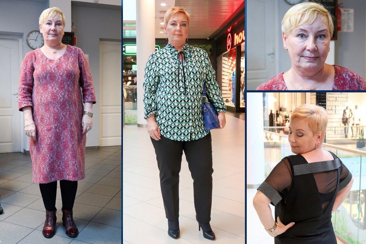 Teresa Pawlik przed i po metamorfozie
