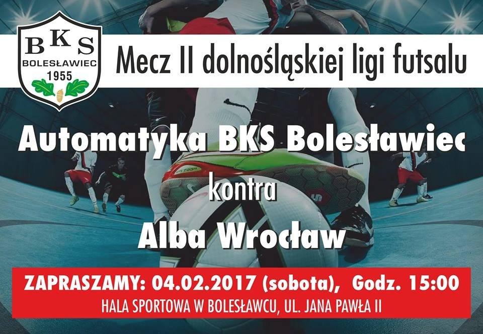 Plakat: Automatyka Bolesławiec - Alba Wrocław