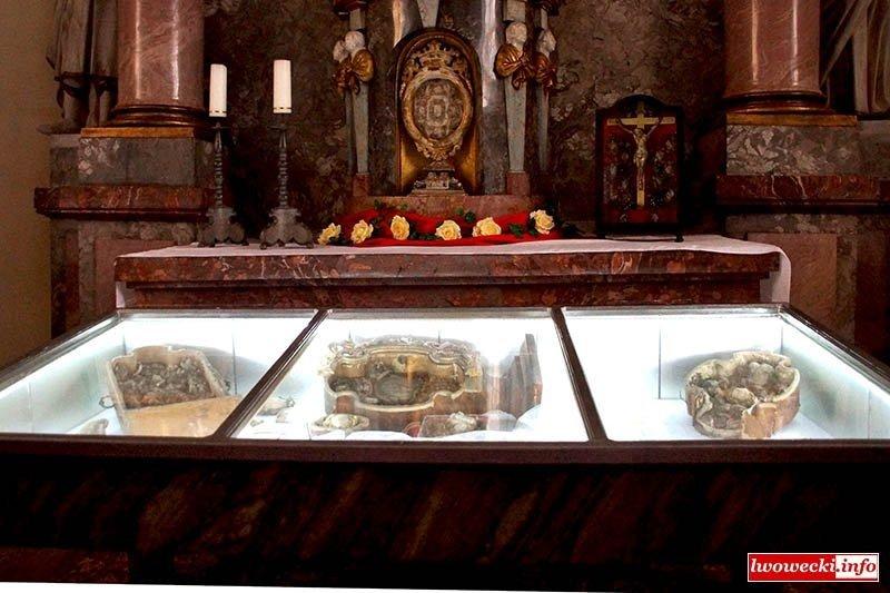 Skarby-relikwie Klasztoru i Kościoła w Lubomierzu