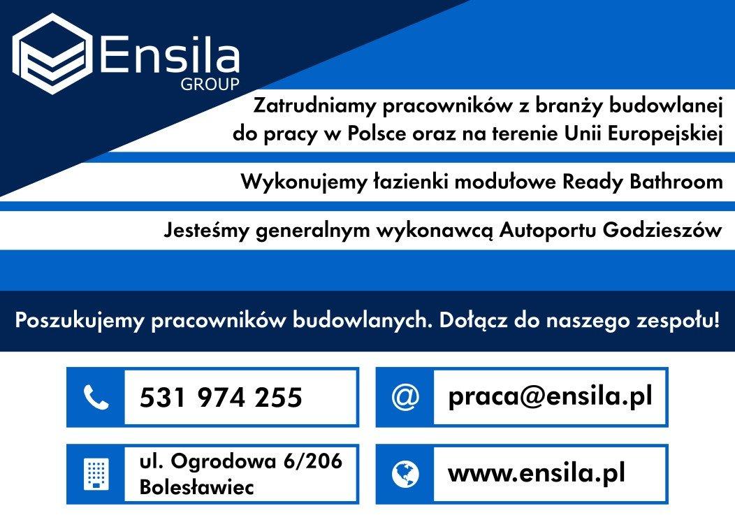 Praca w Ensila Group