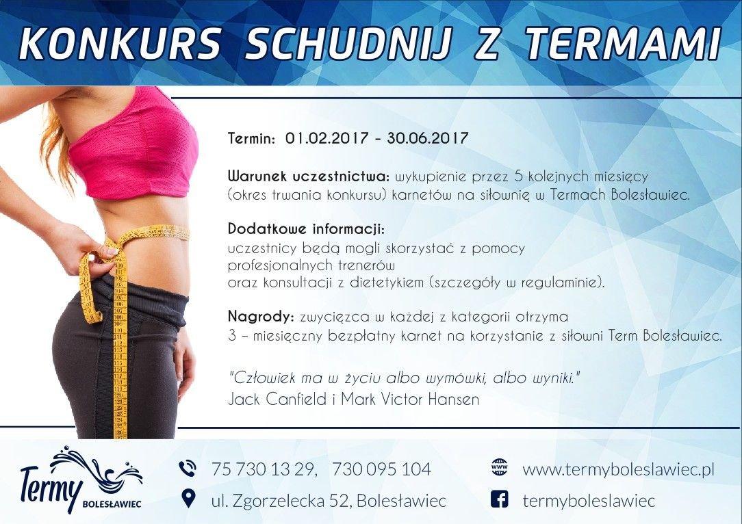 """Plakat akcji """"Schudnij z Termami"""""""