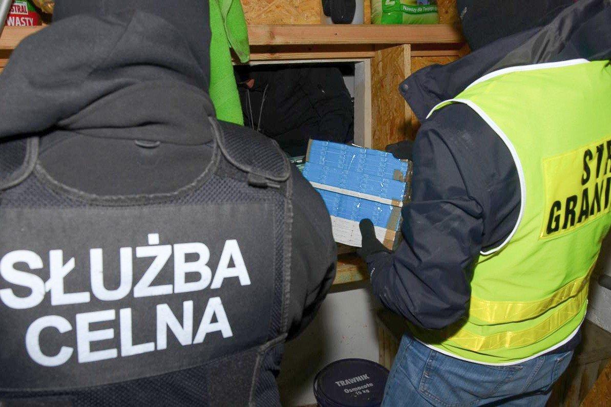 Przechwycili ogromne ilości nielegalnego towaru. Całość warta ponad 1,3 mln zł!