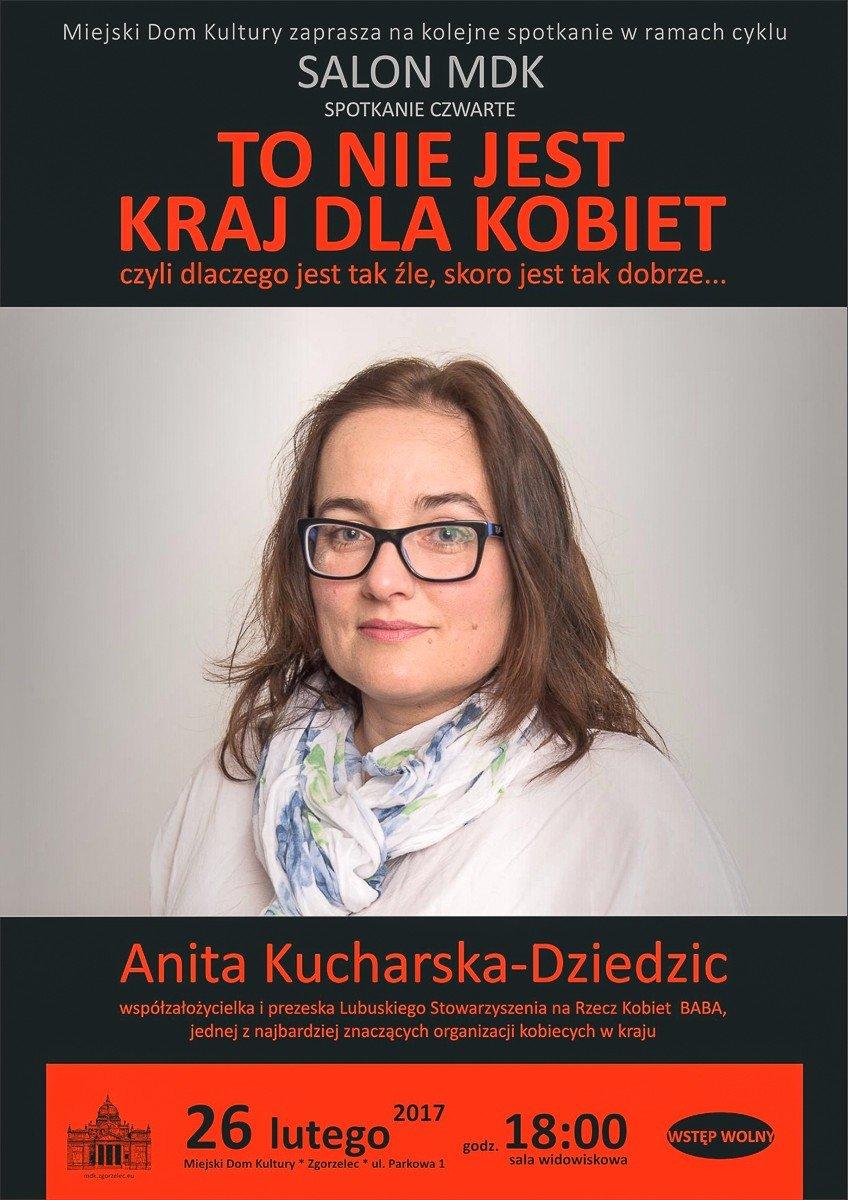 Anita Kucharska-Dziedzic w Salonie MDK