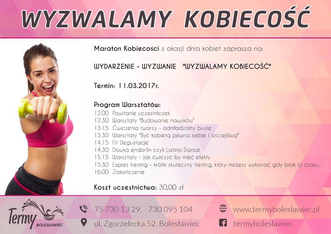Termy Bolesławiec: Wyzwalamy kobiecość