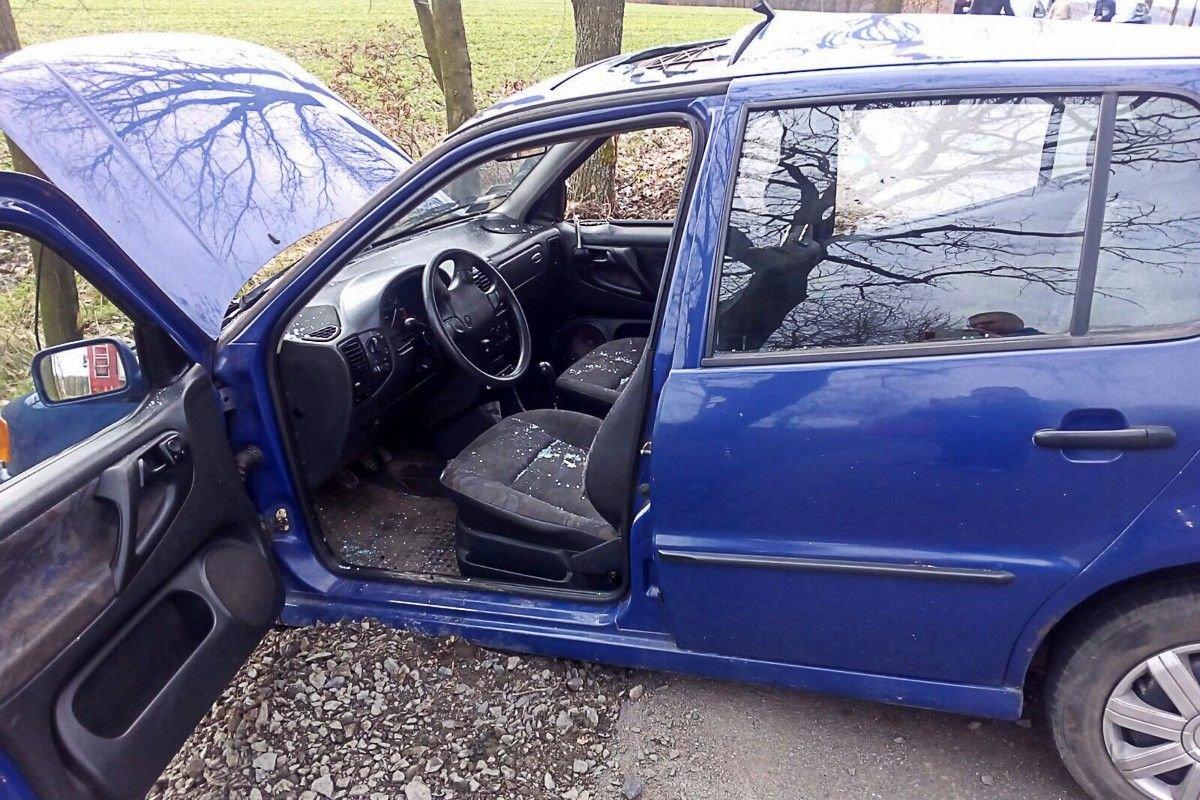 Wypadek między Kruszynem a Kraśnikiem, jedna osoba ranna