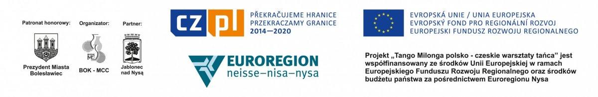 """Logo projektu """"Tango Milonga – polsko czeskie warsztaty tańca"""" 2017"""