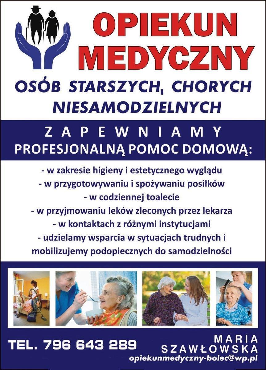 Opiekun Medyczny - Maria Szawłowska