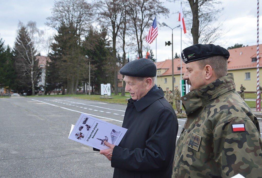 Artylerzyści uczcili swoje święto wraz z żołnierzami US Army