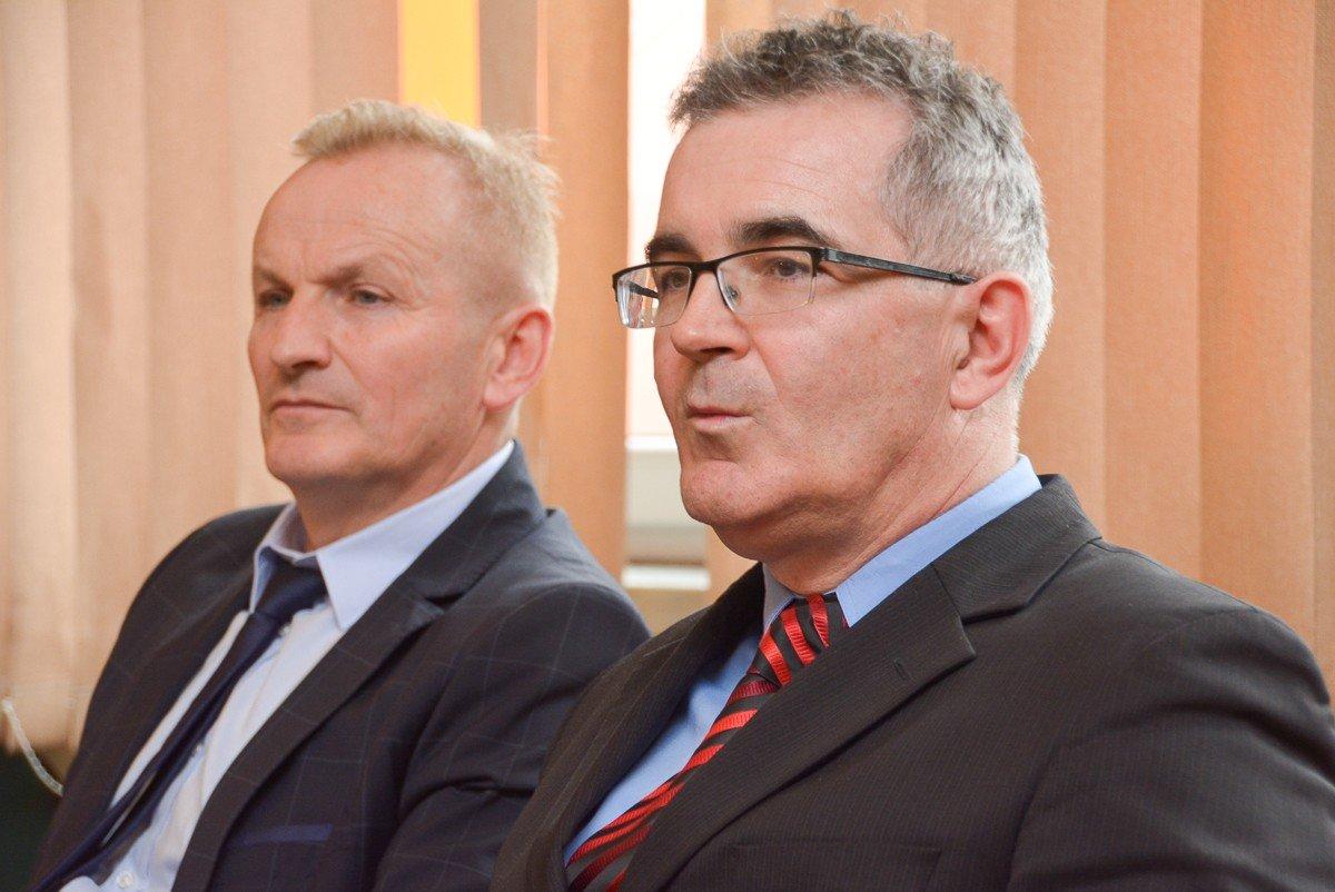 Janusz Kozioł i Jacek Rozpędowski