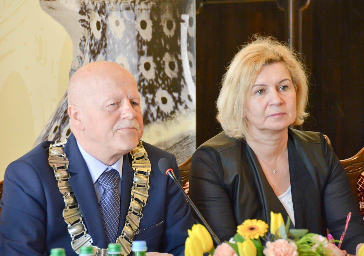 Eugeniusz Kowalski i Renata Fredyk