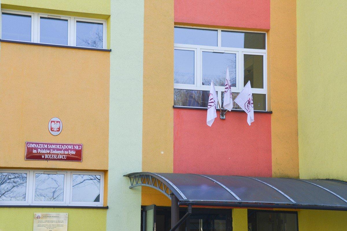 Przeciw pisowskiej reformie szkół strajkuje gimnazjum nr 2
