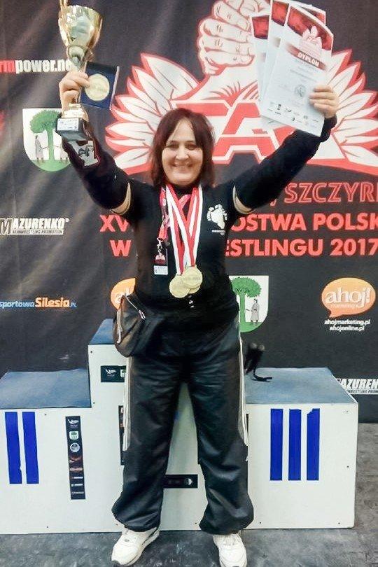 Sonia Turzyniecka potrójną mistrzynią Polski