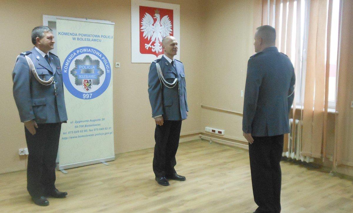 Podinsp. Ryszard Podbucki oficjalnie wiceszefem policji