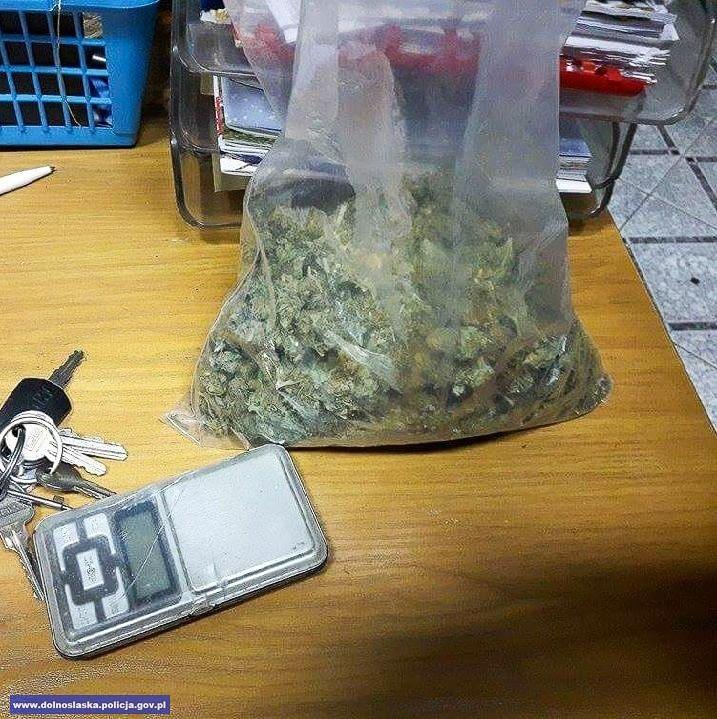 Miał w mieszkaniu prawie 400 porcji marihuany, grozi mu do 3 lat więzienia