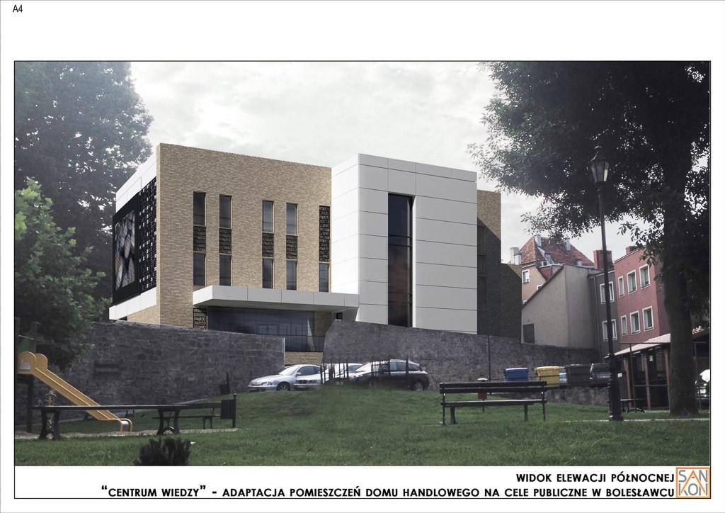 Tak będzie wyglądać Centrum Wiedzy w Bolesławcu. WIZUALIZACJE